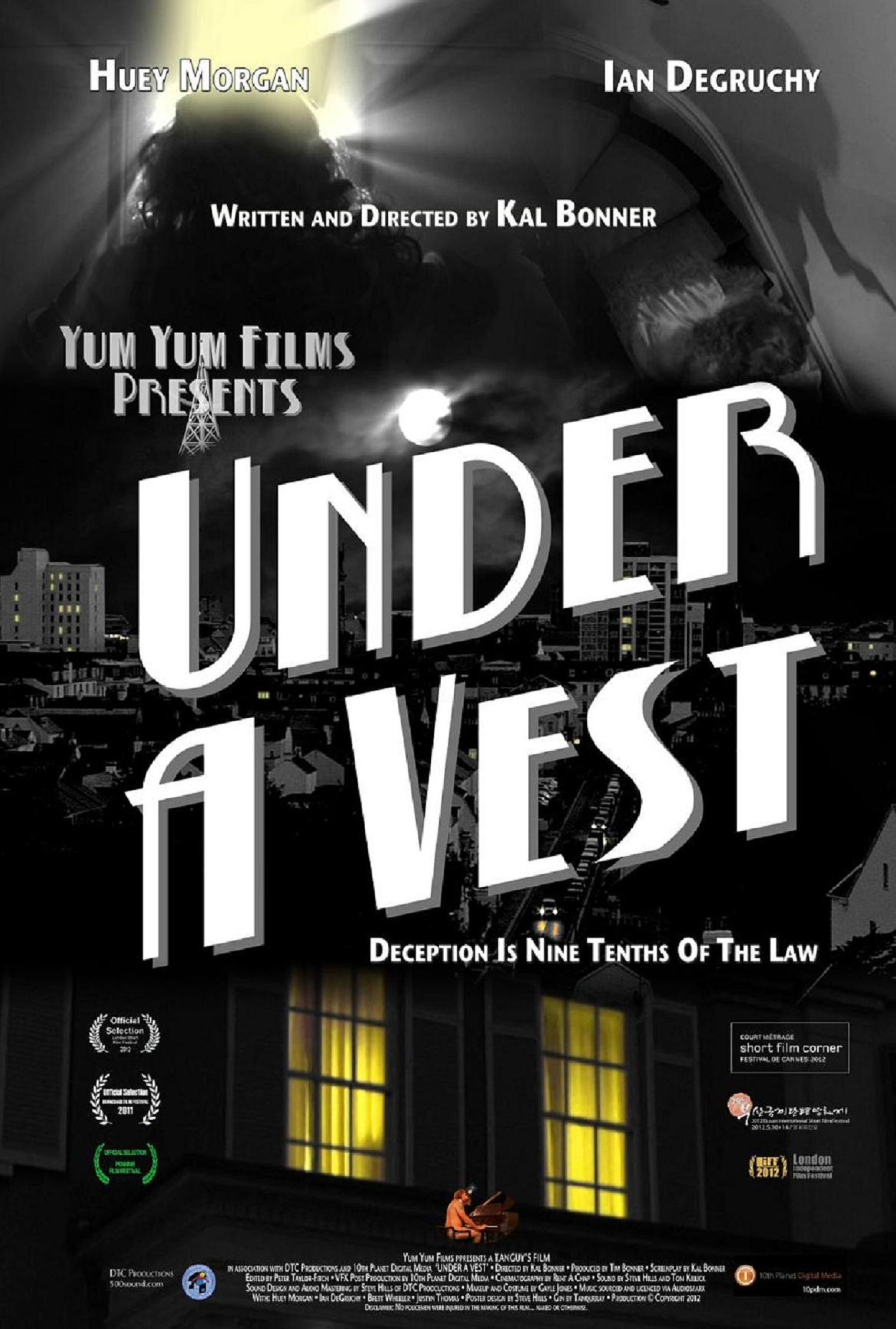 Under A Vest Poster small