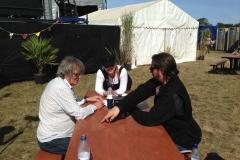 Howard Kal and Tim on set